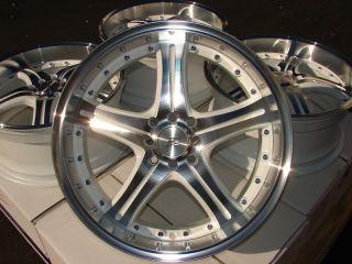 White Effect Wheels Integra Elantra Prelude Civic CL 4 Lug Rims
