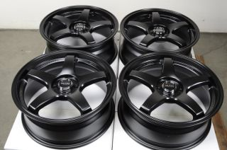 17 Kudo Wheels Rims 4x100 Acura Integra Ford Escort Honda Accord
