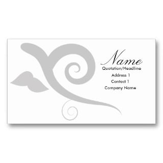 showcase your business with this elegant business card