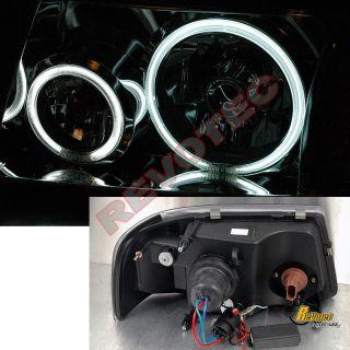05 06 07 08 09 10 11 Ranger Dual CCFL Halo Rims LED Headlights