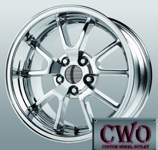 17 Chrome Replica FR500 Wheels 5x114 3 5 Lug Mustang Crown Vic