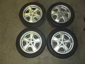 2000 2002 Chevy Cavalier 16x6 Alum Wheels Rims Tires