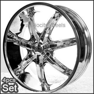 26 inch Wheels Rims Chevy Ford Cadillac Escalade Tahoe