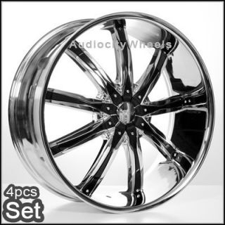 28 Wheels Rims 6LUG Escalade Tahoe Chevy Siverado Avalanche