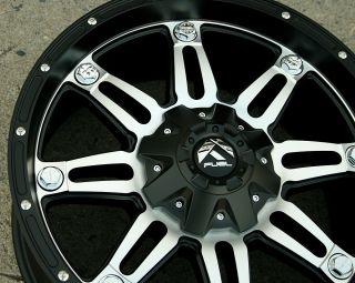 Fuel Hostage D532 20 Black Rims Wheels RAM 1500 2 4WD 94 10 20 x 9 0