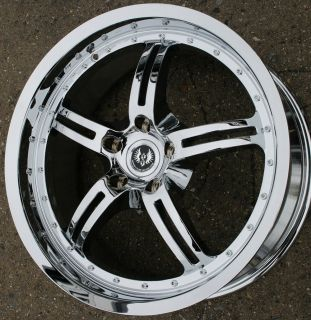 Stern Jock Face 19 Chrome Rims Wheels Ford Escape 02 Up 19 x 8 5 5H