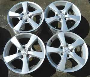 04 05 06 Mazda 3 Mazda3 16 Alloy Wheels Rims Set