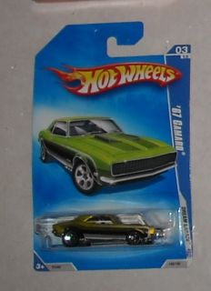 2009 Mattel Hot Wheels 67 Camaro 03 Diecast