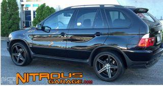 20 Niche Apex Wheels Black BMW 5 Series 525 528 530 535 545 550 M5