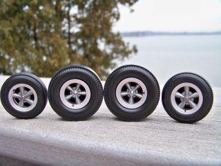 18 Highway 61 Torque Thrust 5 Spoke Drag Racing Mag Wheel Tire Set