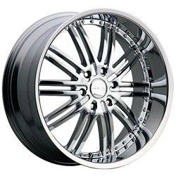 20 inch Menzari Z08 Chrome Wheels Rims 5x112 38 Audi A4 A6 A8 S4 S6 S8