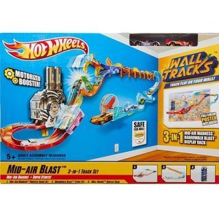 Hot Wheels Wall Tracks Mid Air Blast Buildup Bonus Set