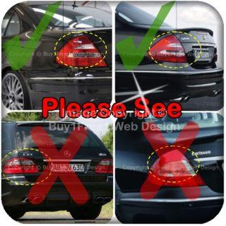 Mercedes Benz W211 E Class Chrome Trim Cover Head Tail Light Gate Door