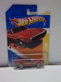 2011 Hot Wheels Red 69 ford Shelby Mustang GT 500 5 SPOKE VARIANT #21