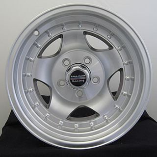 15x10 Machined Wheels Rims AR 23 5x4 5