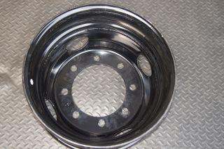 19 5x6 75 Accuride Black Steel 8x275mm Wheel