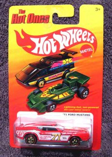 Hot Wheels The Hot Ones 71 Ford Mustang Redline Treasure Hunt Chase