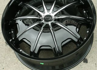 Status Opus 24 Black Rims Wheels Ford Explorer 24 x 9 0 5H 30