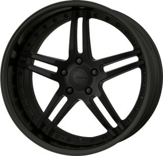 19 Work Gnosis GS 2 Black Rims Wheels x3 E36 E46 Z4 M3
