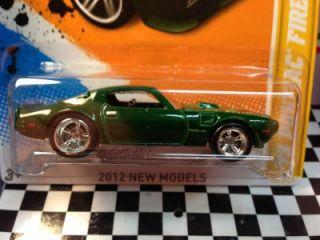 2012 Hot Wheels 73 Pontiac Firebird Custom Super Treasure Hunt