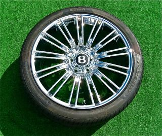 OEM Bentley GT SPEED 20 inch WHEELS TIRES Continental Flying Spur Set