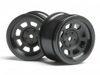 Wheels feature amazing attention to detail to replicate hot rod wheels