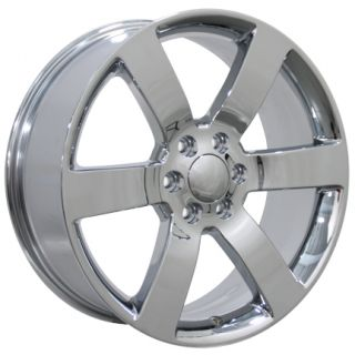 20 Trailblazer SS Wheels Chrome 20x8 5 Rims Fit Chevrolet GMC