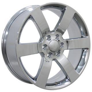 20 Trailblazer SS Wheels Chrome 20x8 5 Rims Fit Chevrolet GMC