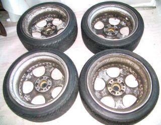 Work vs SD 18x8 5J 5x120 Alloy Wheels Rims BMW E34 E36 E39 M3 M5 325