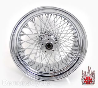 Chrome Billet Rear 300 Wide Tire Wheel 80 Spokes Fits Custom Harley