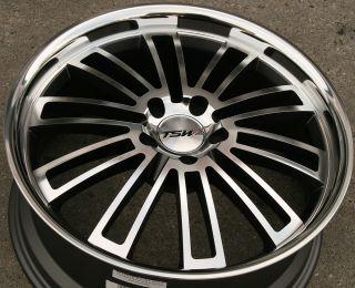 TSW Nardo 18 Gunmetal Rims Wheels Lexus GS300 sc400 GS400 18 x 8 0 5H