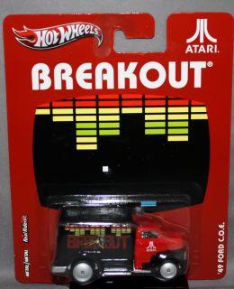 Hot Wheels Nostalgia Atari Series Breakout 49 Ford C O E
