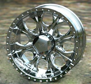 18 inch Chrome Helo Maxx 8 Wheels Rims Chevy GMC Dodge 2500 3500 H2 8