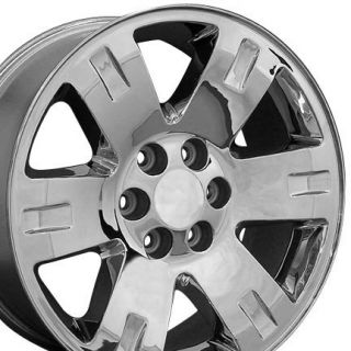 20 Rims Fit GMC Yukon Wheels Chrome 20 x 8 5 Set