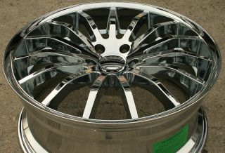 Giovanna Martuni 20 Chrome Rims Wheels Mercedes S500 S550 CL500