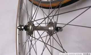 wheelset campagnolo nuovo tipo super champion record rims tubs 5sp