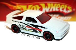 Hot Wheels Toyota Corolla AE 86 Hot Tunerz