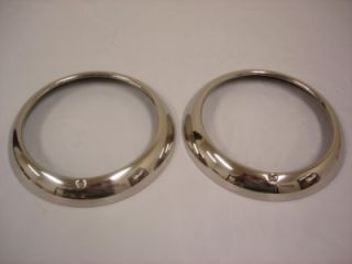 1952 53 54 55 Ford Pickup Truck SS Headlight Rings Rim