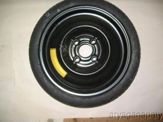 86 87 88 89 Honda Accord Spare Temporary Tire Wheel Rim 105 70 14