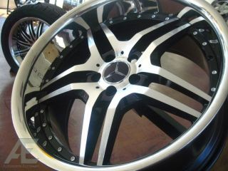 20 Mercedes Wheels Rim Tires SL CLS 500 550 600 55 63