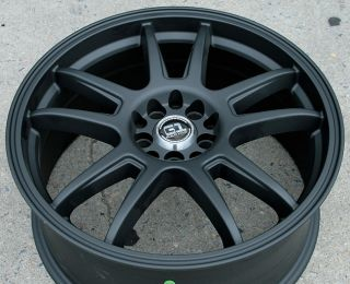 RVM G89 18 Black Rims Wheels Nissan Maxima Altima