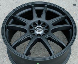 RVM G89 18 Black Rims Wheels Nissan Maxima Altima