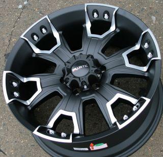 Off Road Havoc 904 20 Black Rims Wheels Silverado Denali