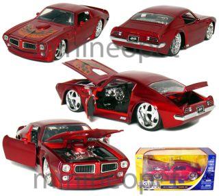 Jada Bigtime 1972 Pontiac Firebird Trans Am 1 24 Red