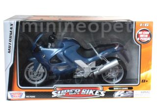 Motormax BMW K1200RS Super Bike Motorcycle 1 6 Blue