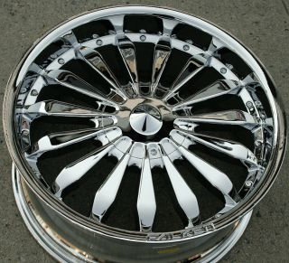 Falken Atlantic City 20 Chrome Rims Wheels Toyota Tacoma 95 Up 20 x 8