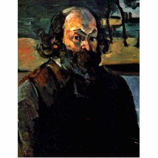 Self Portrait. By Paul Cézanne (Best Quality) Acrylic Cut Out