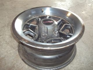 82 93 S10 S15 Sonoma Factory 14x6 Rally Rim Trim Ring and Center Cap