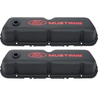 Proform 302 101 Mustang SB Ford Black Valve Covers