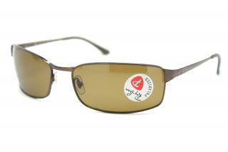 Ban Sunglasses RB 3269 014 57 Brown Metal Full Rim Polarized